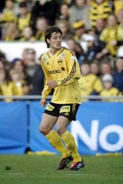 Gylfi Einarsson scoret to mål. (Foto: Heiko Junge / SCANPIX)