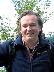 Kjetil Lillesæter besøkte Senja i Bygdesjekken 2004. Foto: Per Kristian Johansen, NRK