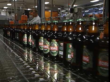 Hansa Borg skal produsere et nytt ølmerke for butikkjeden Coop. (Foto:NRK)