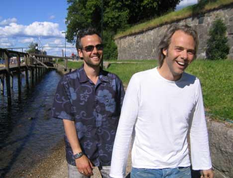 Disse to vil ikke holde festival i Fredrikstad i sommer likevel (Arkivfoto: NRK)