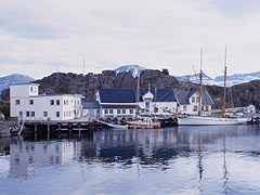 Illustrasjonsfoto: Hamn i Senja