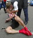 Kurt Asle Arvesen hadde flere fall under Tour de France i fjor. Foto:Scanpix.