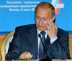 President Putin er under press. Foto: Reuters, Tass