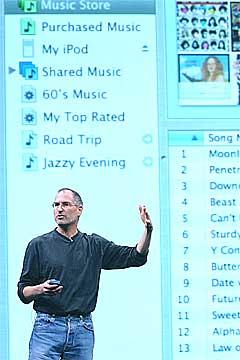 Apple-sjef Steve Jobs og iTunes synes ikke Norge er interessant i denne omgang. Foto: Scanpix.