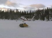 Bilde fra aksjonen i Tokke i februar i år.