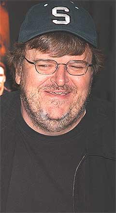 Michael Moore mener Townshend støtter Irak-krigen. Foto: Scanpix