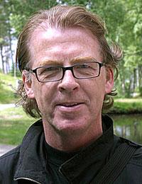 Festivalsjef Jan Ole Otnæs i Moldejazz. Foto: Arne Kristian Gansmo, NRK.