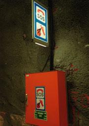 Brannslukkingsapparat som stjeles fører til full brannalarm. Foto: Scanpix