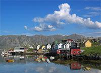 Gjesvær, framtidas turistperle i vest? Foto: Knut-Sverre Horn, NRK