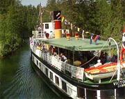 Victoria er en av båtene på Telemarkskanalen.