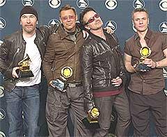 <b>Dumt:</b> Man må nok passe litt bedre på musikken sin i disse digitale tider, U2. Foto: Scanpix.