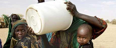 DARFUR: Ifølge Amnesty blir voldtekt brukt som systematisk våpen i Darfur i Sudan. (Arkivfoto: Thomas Coex/AFP)