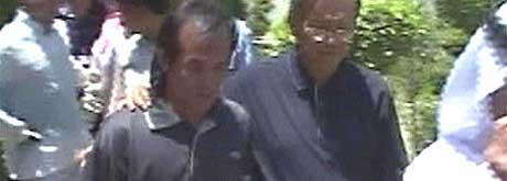 I formiddag ble Angelo de la Cruz brakt til den filippinske ambassaden i Bagdad. (Foto: Al Jazeera)