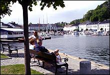 Trenger ingen festivaler: Risør er en gnistrende kandidat til å bli Norges sommerby (foto: Jens A. Riisnæs)
