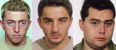 Ridvan Halimi, Jusuf Hani og David Alexander Toska er fremdeles på frifot og ettersøkt.