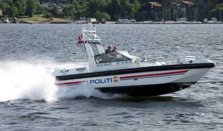 Politiet har i helgen trafikkert skjærgården i Østfold. Kommende uke starter patruljeringen for fullt. Foto: I Johnsen, Redningsselskapet.