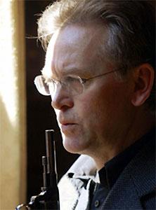 Gunnar Staalesen har skrevet om Varg Veum i 27 år. Foto: Scanpix.