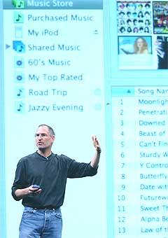 Apple-sjef Steve Jobs kan tilby titusenvis av indielåter fra nå av. Foto: Scanpix.