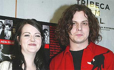 Meg og Jack White i The White Stripes er klare med ny plate. Foto: Scanpix.