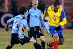 Uruguay- Colombia. Foto: AP Photo/Martin Mejia.