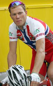 Thor Hushovd kunne ikke deltatt i et «Tour of Norway»-ritt i år. Foto: AFP.