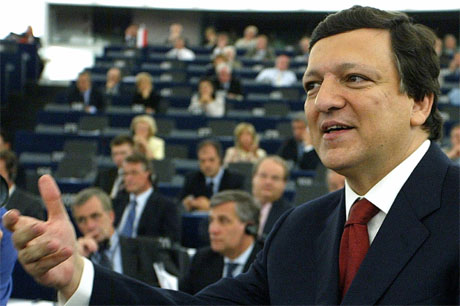 José Manuel Durão Barroso leder den nye EU-kommisjonen som inntar kontorene i Brussel i november. (Foto: Reuters/Scanpix)