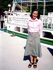 Sølvsupergjesten Anne Raftevold. Foto: Haakon D Blaauw, NRK