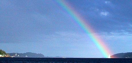 Utseilingen fra Kragerø mot Portørlandet. Foto: Jon Eeg, SCANPIX