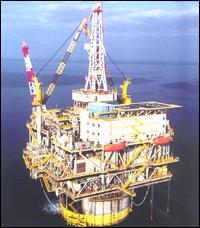 """Spar-plattformen """"Genesis"""", som Aker Maritime leverte til Chevron. (Foto: Aker Maritime)"""