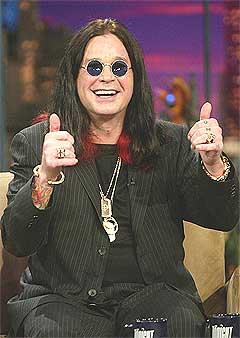 Ozzy Osbourne er tidenes mest populære britiske tungrocker. Foto: Scanpix.