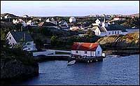 Bulandet er attraktivt for øyhopparar. (Foto: NRK)