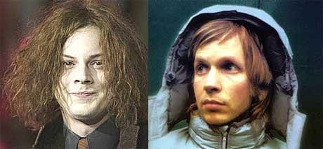 Jack White og Beck er kompiser. Foto: Scanpix/Promo.
