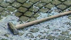 Denne sleggen ble brukt under Stavanger-ranet 5. april