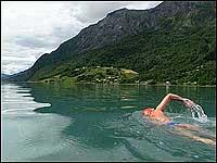 Pugh undervegs. (Foto: Heidi Lise Bakke, NRK)