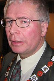 Ordfører i Ringerike kommune, Kolbjørn Kværum.