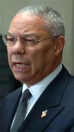 USAS utenriksminister Colin Powell besøkte nylig Darfur. (Foto: AP/Scanpix)