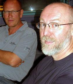 Kjetil Try og Bernt Aardal er begge skeptiske til politisk TV-reklame. Foto: NRK