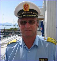 Arnstein Nilssen, politimester på Nordmøre og i Romsdal. Foto: Gunnar Sandvik.