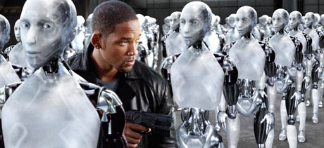 "Will Smith har hovedrollen i ""I, robot"" (Foto: Fox Film)"