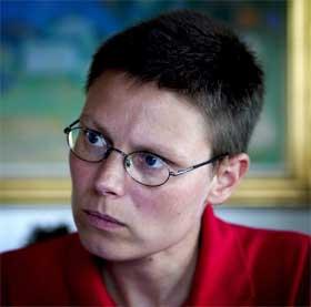 SIKTET: Annemarte Hommel er ifølge det danske forsvaret siktet for å ha brukt ulovlige forhørsmetoder i Irak. Hun benekter at hun har gjort noe ulovlig. (Foto: AP Photo/Lars Skaaing, Polfoto)