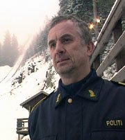Det var lensmann i Modum, Halvor Hartz, som reagerte først i ansettelses-saken. Arkivfoto: NRK