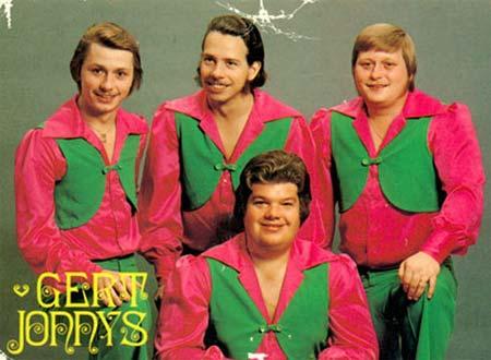 Det svenske dansebandet Gert Jonnys herjet hitlistene på 70-tallet.