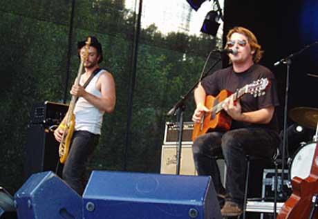 Jim Stärk spilte på Lost Weekend 7. august 2004.