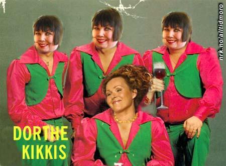 Det nye bandet Dorthe Kikkis får sin egen tv-serie på TV2 til høsten.