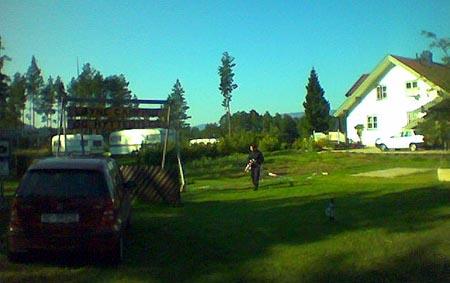 Folk i Vrådal er redde etter skotdramaet ved Løyne camping i Vrådal i Kviteseid kommune. Foto: Børre Karterudseter