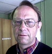 Kjell Arne Norum er sokneprest i Kviteseid, og leiar i krisegruppa i kommunen. Foto: Styrk Fjærtoft Trondsen