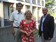 Bjørn Ole Gleditsch (H), Anne Rygh Pedersen (Ap) og Øyvind Riise Jenssen (H) krever møte med helseministeren.