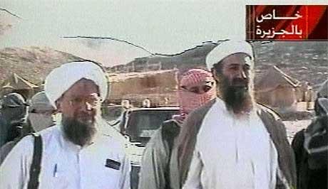 Interpol skal ha beviser for at Osama bin Laden og al-Qaida tjener penger på piratmarkedet. Foto: Scanpix.