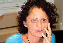Tar te om morgenen: Nadia Hasnaoui klarer seg uten frokost, men ikke uten te