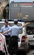 Trikkedrapsmannen går nå uten tilsyn. Foto: NRK